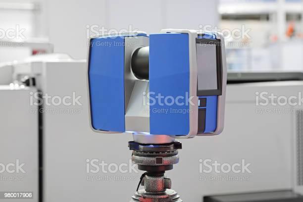 3d Laser Scanner Stock Photo - Download Image Now