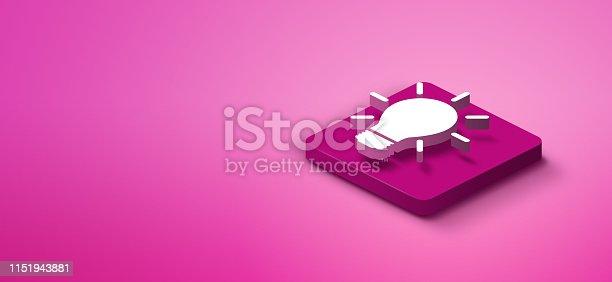 1151943994 istock photo 3d light bulb icon 1151943881