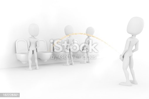 istock 3d man for world piss:)) 152228301