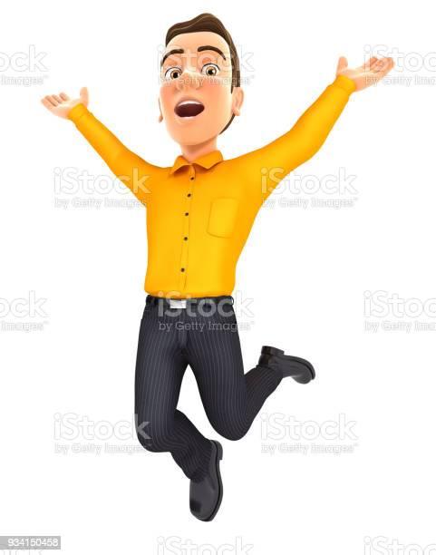 3d man is jumping picture id934150458?b=1&k=6&m=934150458&s=612x612&h=ururtypwrhishju s2tjxr5c2w1d0o6hhd8xw345cla=