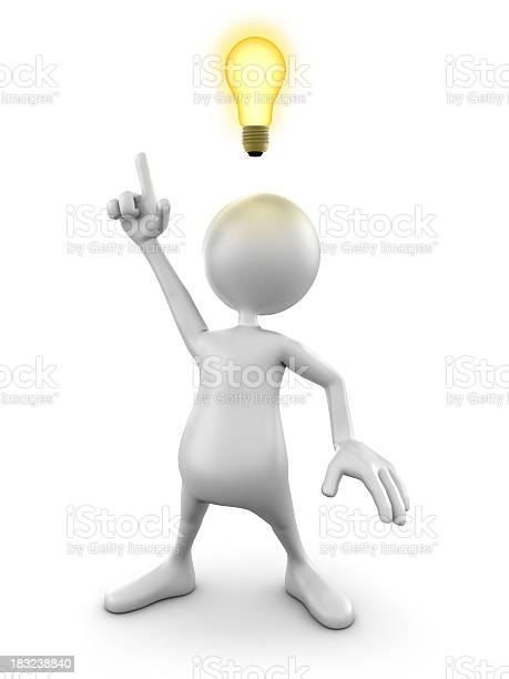 3d man with idea lightbulb isolated w clipping path picture id183238840?b=1&k=6&m=183238840&s=612x612&h=webeqdmyskgnj4m8gwknqsbbldmvhjtjsvx7naoqnmo=