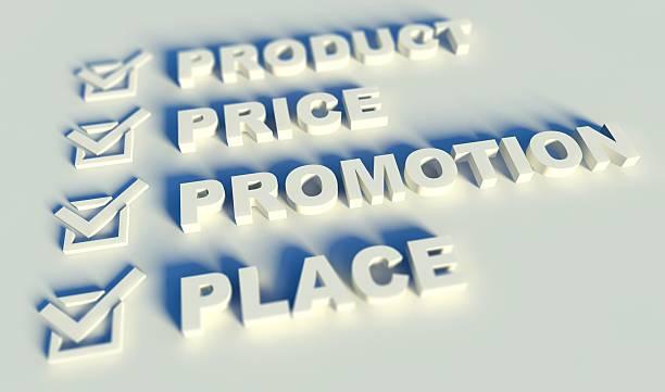 3 d mix de marketing conceito com palavras-chave - foto de acervo