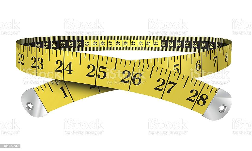 3d measuring tape stock photo