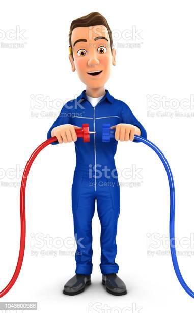 3d mechanic plugging two power cords picture id1043600986?b=1&k=6&m=1043600986&s=612x612&h=fd7ntg6goz1x 8atoazkr0xvlqzpcw8jwqeg3wlsuru=