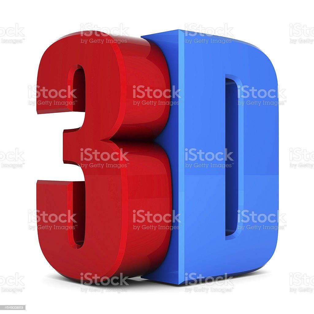 3d metallic logo stock photo