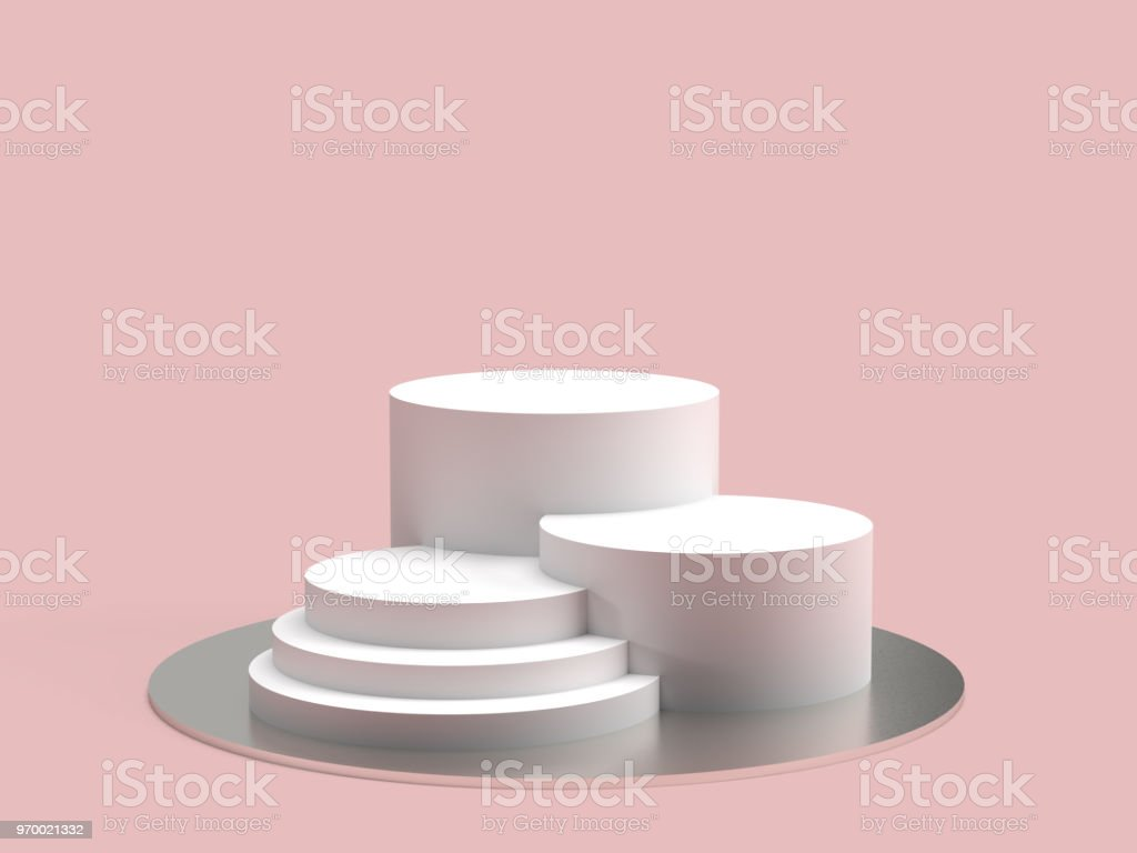 3d Minimal Product display stock photo