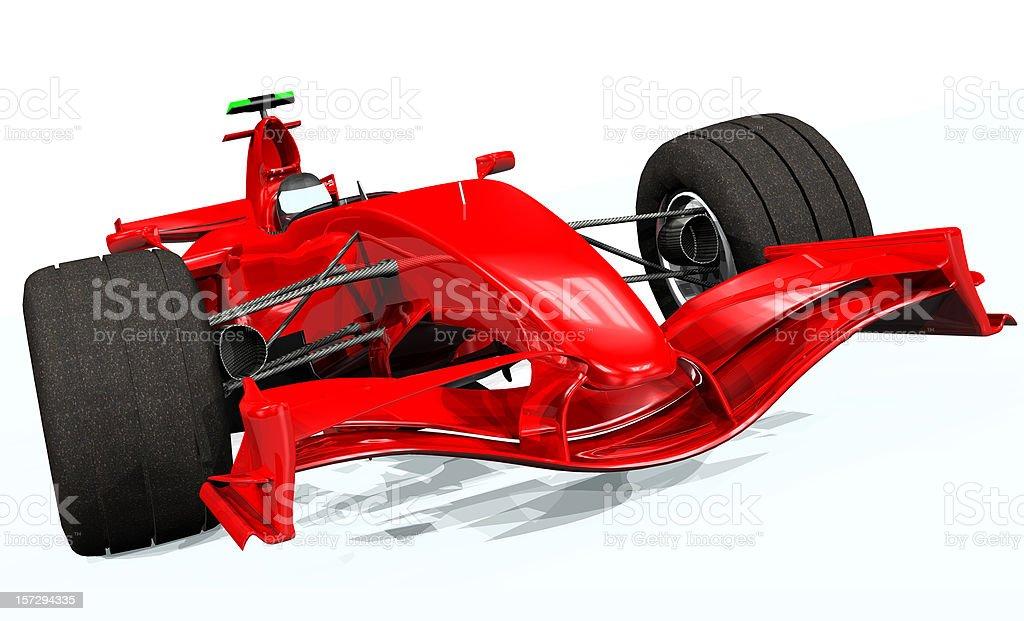 3d Model Render Ferrari F1 Car royalty-free stock photo