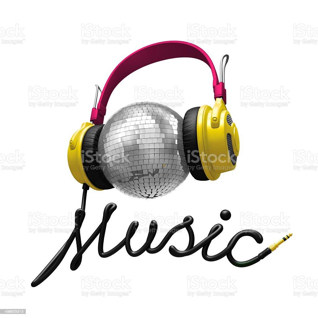 3 d concept de musique - Photo