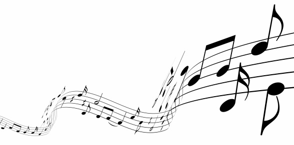 Render of music notes dancing away. You may also like: