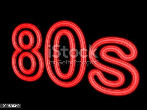 istock 3d neon sign 924628342