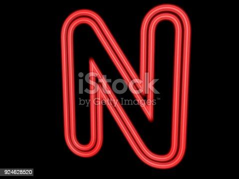 istock 3d neon sign 924628520
