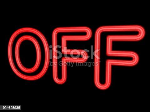 istock 3d neon sign 924628536
