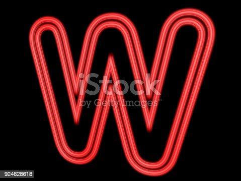 istock 3d neon sign 924628618