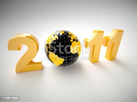 istock 3d new year 2011 illustration 119811850