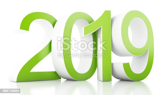 istock 3d New Year 2019 986746894