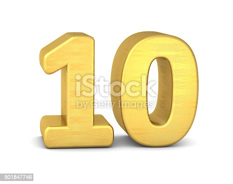 673234458istockphoto 3d number 10 gold 501847746