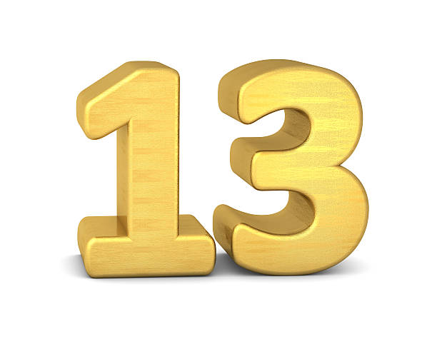 Royalty Free Number 13 Pictures, Images And Stock Photos