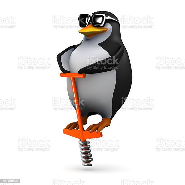 3d penguin bouncing on a pogo stick picture id532985369?b=1&k=6&m=532985369&s=612x612&h=2mr 1rofy4b3wkfjf3qqj8iyg6udtrazv0y9bfvmm0g=