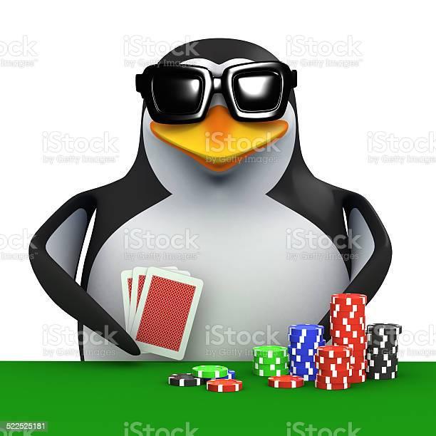 3d penguin playing cards and gambling picture id522525181?b=1&k=6&m=522525181&s=612x612&h=1srorcgt2sjriflvgznmar0yojj2ecemqarhm0yowfu=