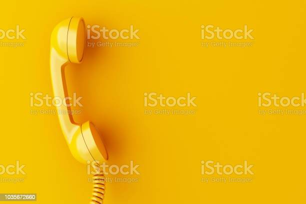3d phone reciever on yellow background picture id1035672660?b=1&k=6&m=1035672660&s=612x612&h=3a bhpk vxscnw6cerg5ndayvn7lz6fcnqpxq1qyzgw=