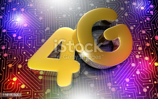 istock 4G 3d. 1161575001