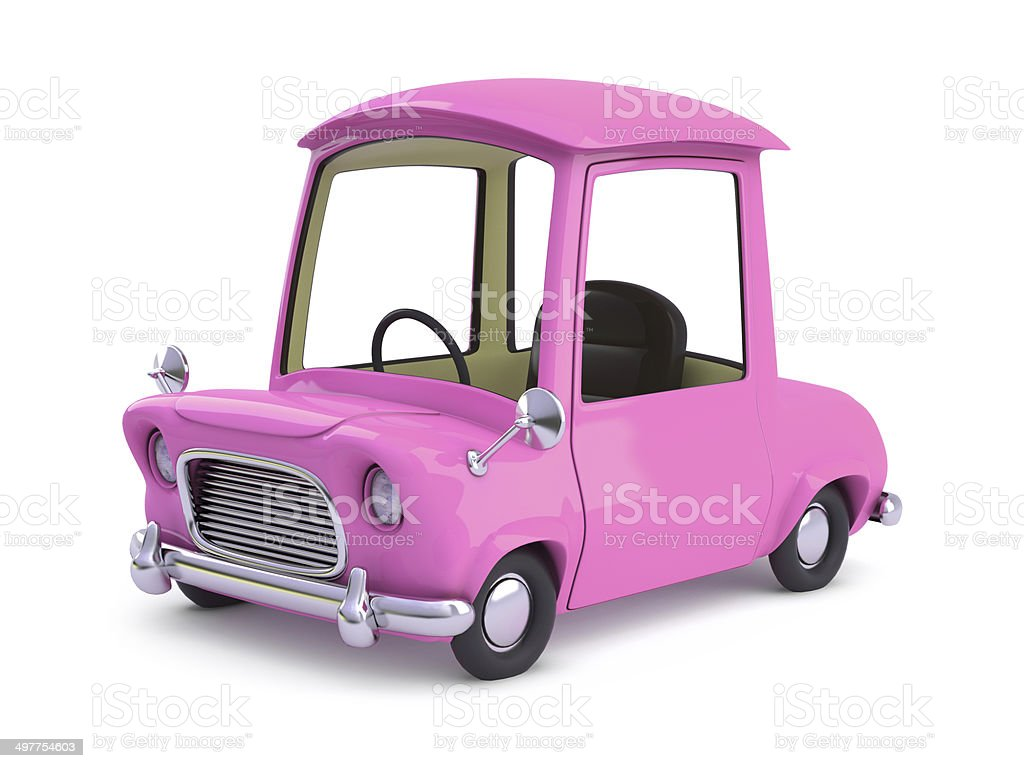 3 d cartoon-Pink – Foto