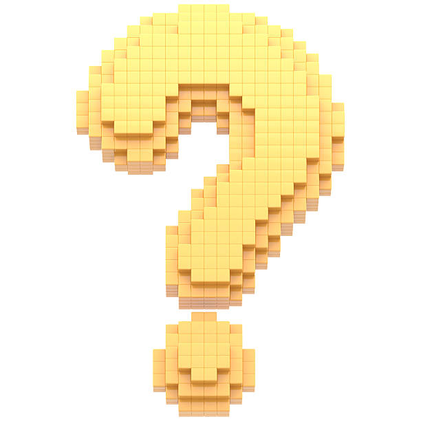 Royalty Free Pixelated Question Mark Pictures, Images And