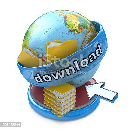 462138083istockphoto 3d planet download and file folders 508253844