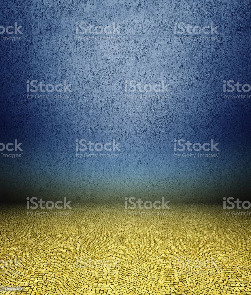 3 d 석고 벽 및 지형 royalty-free 스톡 사진