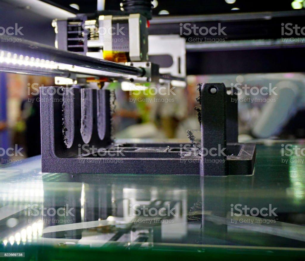 3D-utskrifter bildbanksfoto
