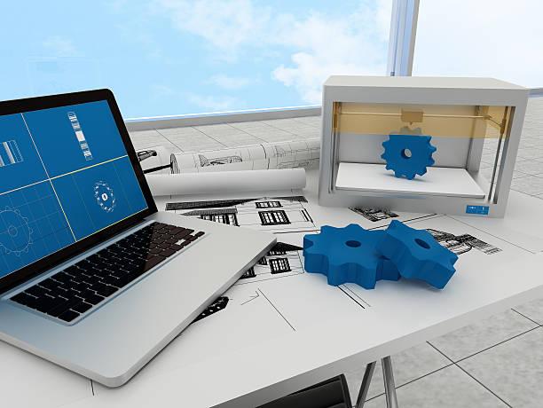 3 d printing technologie und ausrüstung - produktdesigner stock-fotos und bilder
