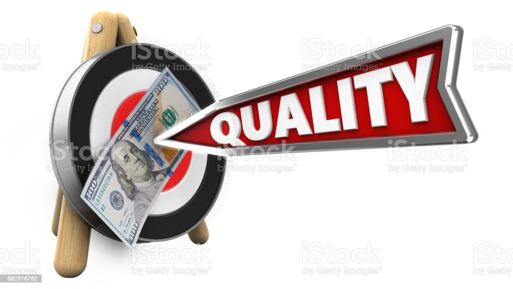 3d quality arrow royalty-free stock photo