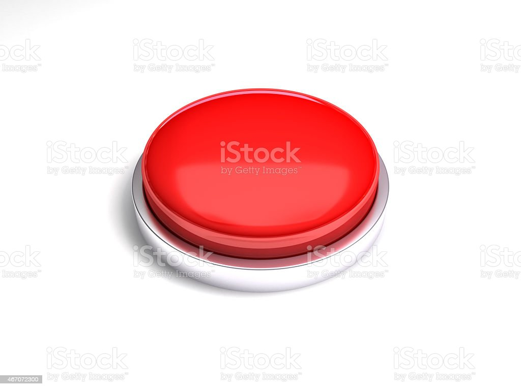 3d Red Button Stock Photo - Download ...