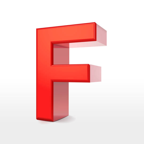 6752632b14 Best Red 3d Letter F Stock Photos, Pictures & Royalty-Free Images ...