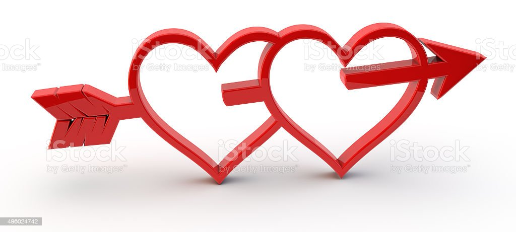 3d Red Love Symbol Stock Photo More Pictures Of 2015 Istock