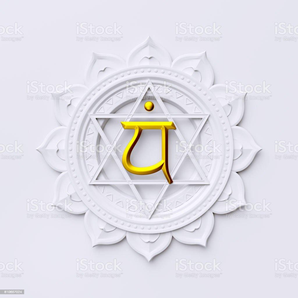 3d Render 3d Illustration Abstract Chakra Symbol Modern