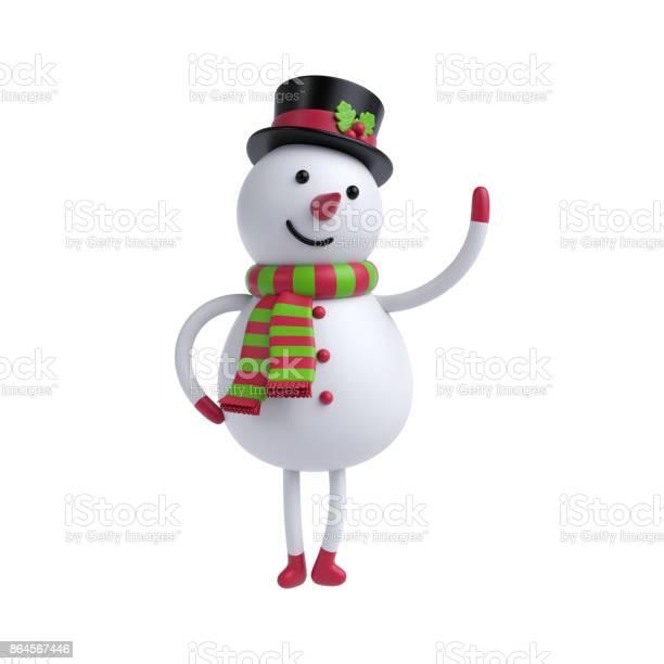 3d render 3d illustration cute cartoon snowman isolated on white picture id864567446?b=1&k=6&m=864567446&s=612x612&h= 7ohigx3uo4v5q8cepdjvlakmtc7vffkzvs pmmvkdy=