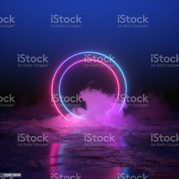 3d render abstract background round portal pink blue neon lights picture id1058076636?b=1&k=6&m=1058076636&s=612x612&h=bitvtvebxk1fovv21sd7m4ianzeoyj96ylhbokan0k8=