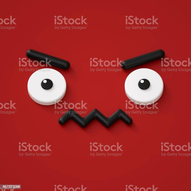 3d render abstract emotional face icon grumpy character illustration picture id857373096?b=1&k=6&m=857373096&s=612x612&h=rmwgrjyx0gm9kvg6tjtybbhlvb f0 zqdo xeygjhta=