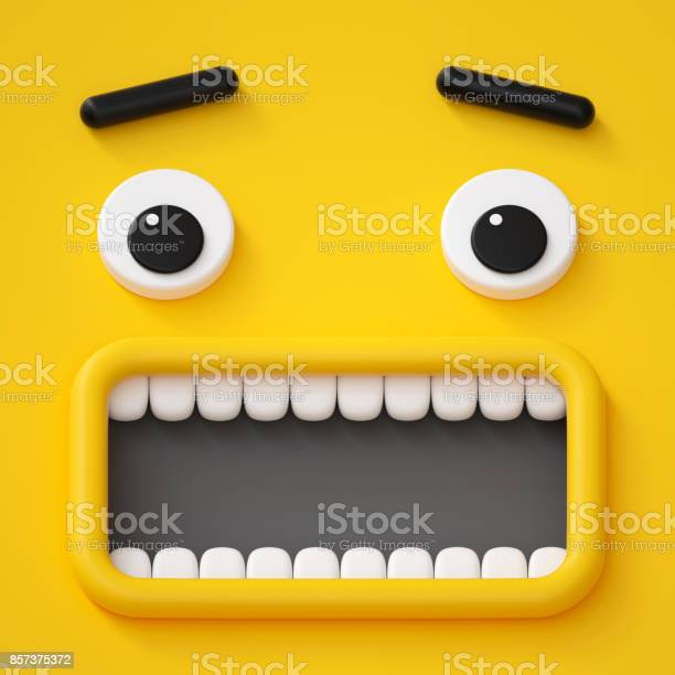 3d render abstract emotional face icon scared character illustration picture id857375372?b=1&k=6&m=857375372&s=612x612&h=pmtrcy7c80kvezabxaaqanm72melnwtac5xjka3yk3k=