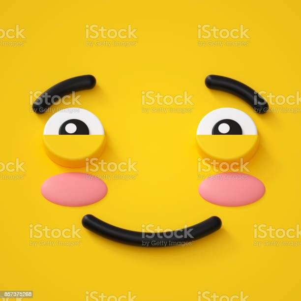 3d render abstract emotional face icon shy character illustration picture id857375268?b=1&k=6&m=857375268&s=612x612&h=8ywvmrtxqu1sxtkty6v7jyul7vkf7rjvrceva7vj lo=