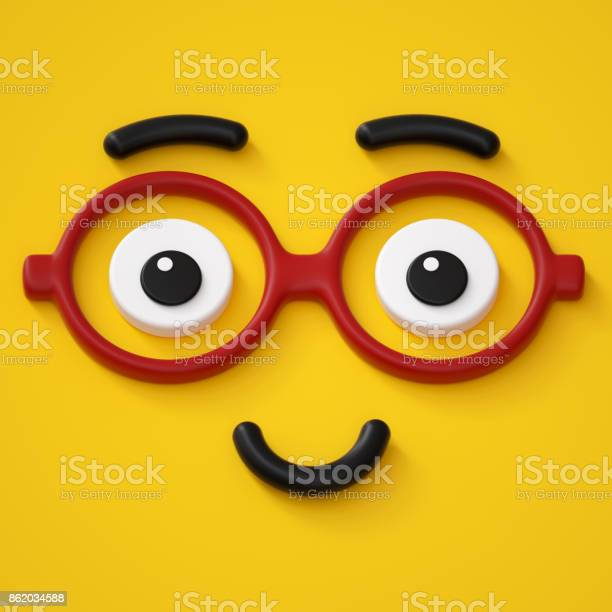 3d render abstract emotional smart face icon wearing glasses friendly picture id862034588?b=1&k=6&m=862034588&s=612x612&h=hi3zswyccztoiigdnllhwztbe2t0me9w5ged  q5xie=