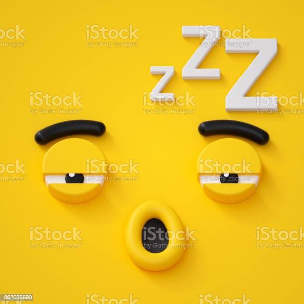3d render abstract sleepy face icon sleeping character illustration picture id862036690?b=1&k=6&m=862036690&s=612x612&h=gujcprr5vgtbk6kipmvis4njl5 pteme7u24pqn799k=