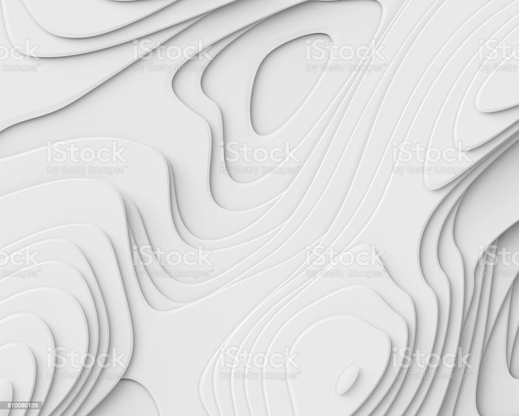 3d render, abstract white paper background, layers, flat fiber structures, holes, macro texture stock photo