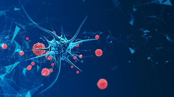 istock 3d render biological cell 952804252
