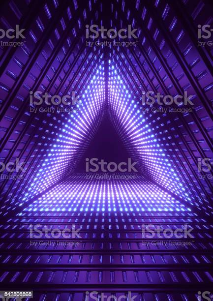 3d render blue neon lights blue triangle tunnel abstract geometric picture id842808868?b=1&k=6&m=842808868&s=612x612&h=w0jjneiz6r ornzf76op0gq7giwhe9vmiryjgsqrp2e=