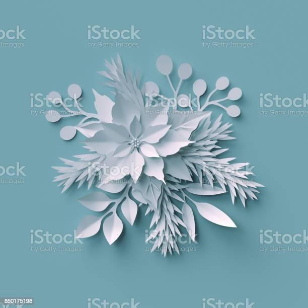 3d render christmas background white paper cut festive elements picture id850175198?b=1&k=6&m=850175198&s=612x612&h=v1xwfkmqmlwrqqccazeeeicmcz7rex1phqcpsowkabg=