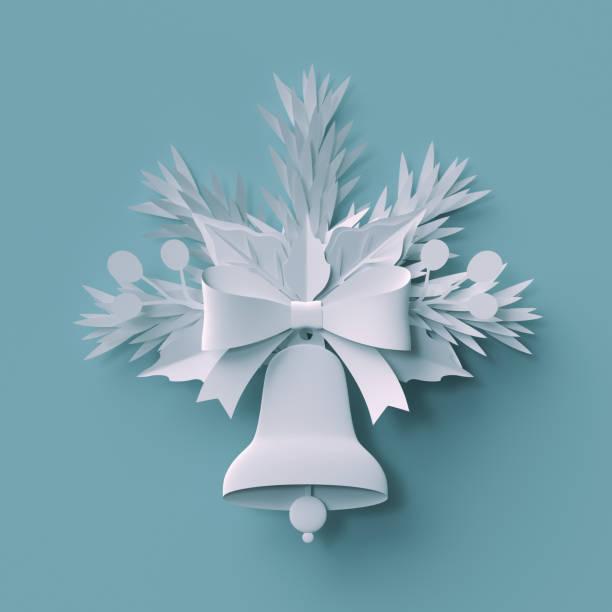 3d render, weihnachtsdekoration, weißem papier ausschneiden, festliche elemente, urlaub hintergrund, grußkarte - weihnachtssterne aus papier stock-fotos und bilder