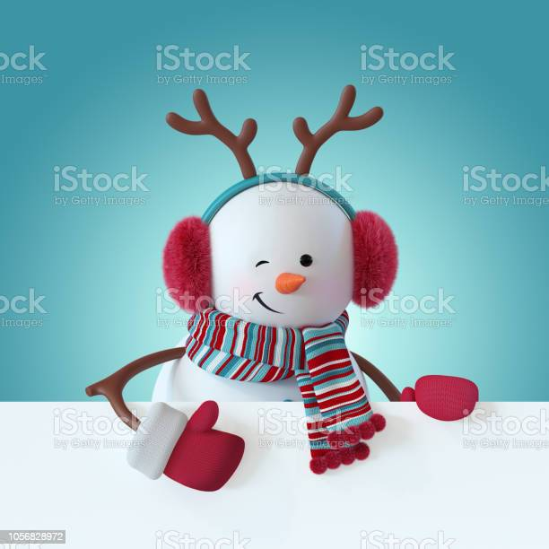 3d render christmas snowman character smiling blinking wearing furry picture id1056828972?b=1&k=6&m=1056828972&s=612x612&h=zzrsmzddzbemr92wkdoxhf4pldzmuqupbnp4o81qdjc=