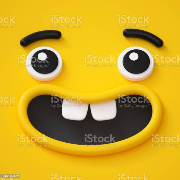 3d render cute childish face toothless smile amazed emotion emoji picture id940109472?b=1&k=6&m=940109472&s=612x612&h=hj19k4vxhjeih1 wsfyapoawww  an0ogqc30fetx5i=